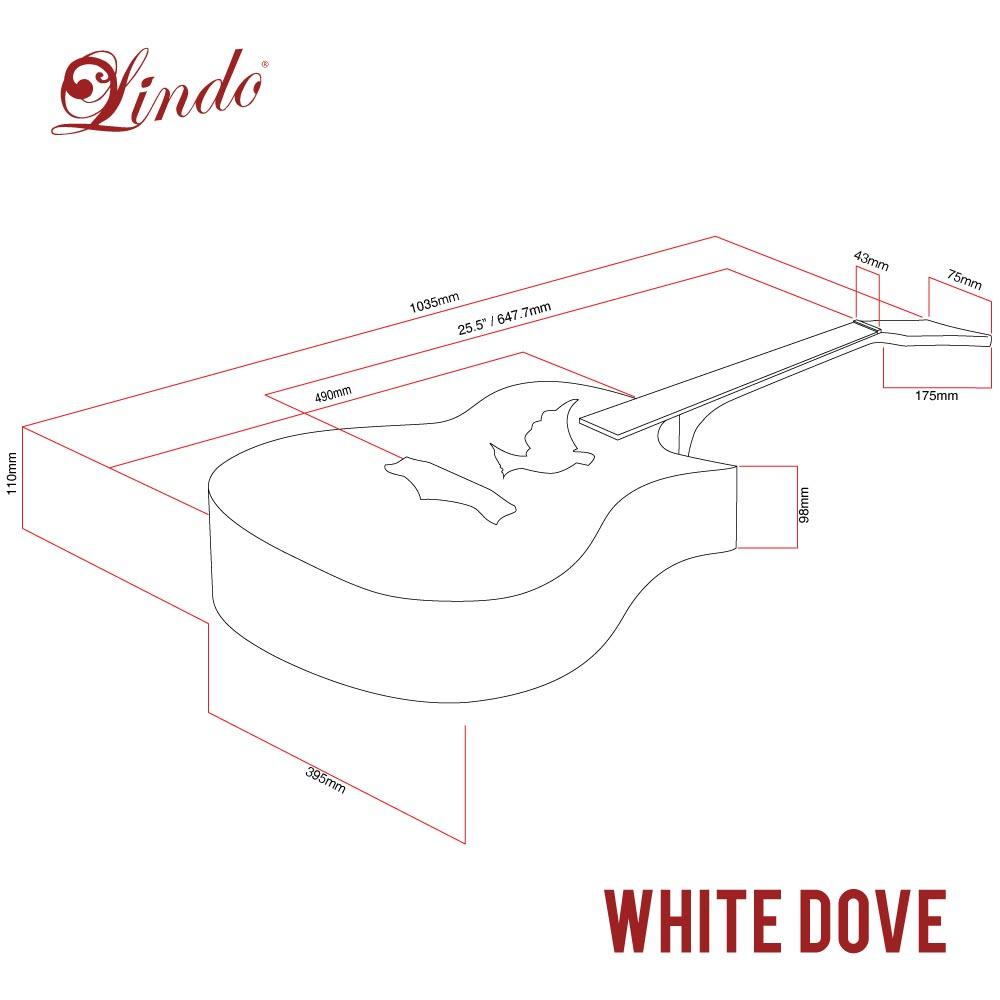 Lindo White Dove V2